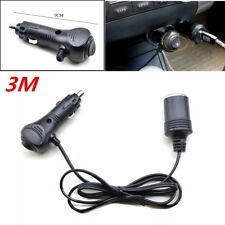 Car Cigarette Lighter Extension Cable Lead Telgoner 3M 12V Extension Cord Ca
