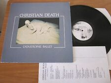 LP - CHRISTIAN DEATH - CATASTROPHE BALLET