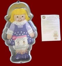 Storybook Doll Cake Pan Complete from Wilton #2048 - NEW