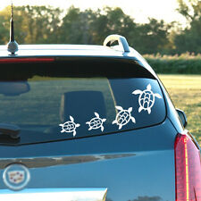 7 Sea Turtle Decals, Stickers - Car, bathroom, laptop, tablet, you name it!