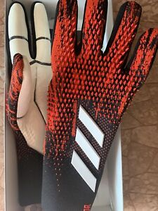 Adidas Predator 20 PRO FH7288 Goalkeepers Gloves Size 10 NEW