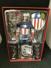 HotToys 1/6 Captain America The First Avenger Star Spangled Man SIDESHOW EDITION
