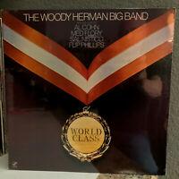 "THE WOODY HERMAN BIG BAND - World Class - 12"" Vinyl Record LP - SEALED"