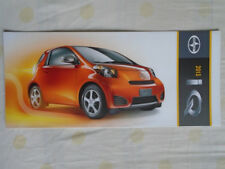 Scion iQ range brochure 2013 USA market small format