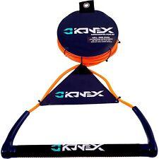 Konex Pro Wakeboard Round Suede Handle & Spectra Dynema Rope ORANGE KP1