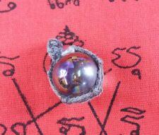 MAGIC NAGA EYE BALL HOLY PROTECT WEALTH LUCKY GEM PENDANT THAI BUDDHA AMULET