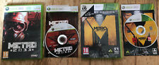 Metro 2033 And Metro Last Light Xbox 360 Games Complete PAL