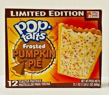 1 box Pop Tarts Toaster Pastries Frosted Pumpkin Pie 12 Count each NEW Fresh
