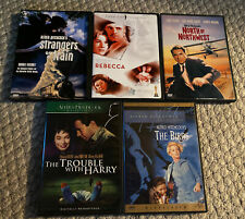 Alfred Hitchcock 5 Dvd Lot Birds Strangers On A Train North By Northwest + More