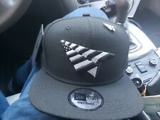 ROC NATION SNAPBACK WOOL BLACK HAT PAPER PLANES PIN GREEN UNDERVISOR JAY-Z🔥