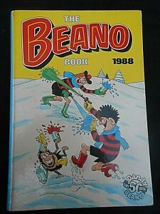 ** THE BEANO BOOK 1988 ** Annual Good Condition FREE UK P&P