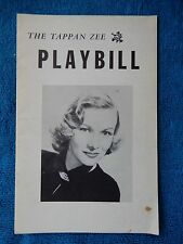 Cat On A Hot Tin Roof - Tappan Zee Playhouse Theatre Playbill - 1958 - Lake