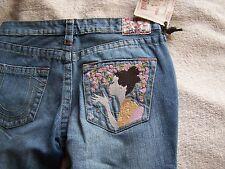 True Religion Jeans Bobby Geisha Girl Distressed $169 NWT Size 25, 26, 28