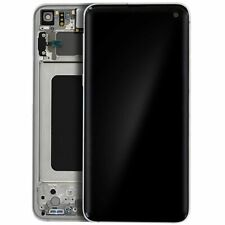 LCD OLED S10e G970F ECRAN LCD TACTILE SAMSUNG GALAXY AVEC CHASSIS BLANC