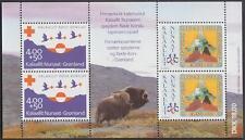 Greenland #B18a Mnh Boy Scouts Red Cross S/S 1993 cv $20