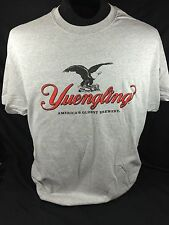Yuengling Lager Beer size L T-Shirt Gray Eagle Logo NEW!