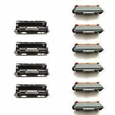 6 TN750 Toner Cartridge + 4 DR720 Drum Compatible For Brother MFC-8910DW 8950DW