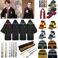 Harry Potter Cape Manteau écharpe Krawatt Gryffindor Slytherin Ravenclaw Costume