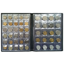 Coin Collecting Starter Kit 250-Coins Collection Storage Case Holders Album Book