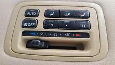 LEXUS LX470 HEATER/AC CONTROLS UZJ100R, 05/1998-12/2007 REAR