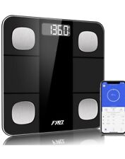 Idoo Smart Body Composition Bathroom Scale Fg263Lb Weight Bmi Muscle Mass Scale