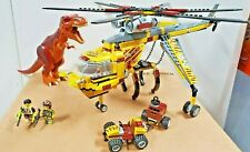 LEGO Dino: T-Rex Hunter (5886) 100% Complete: Dino+ Minifigures+ Vehicle+Manuals