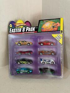 Hot Wheels Easter 8 pack  porsche and hot bird in it!