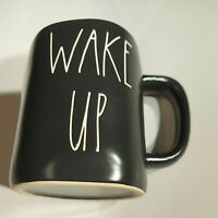 Rae Dunn By Magenta - LL WAKE UP - LL BLACK Ceramic Coffee Mug