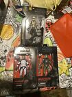 Black Series Clone Commander Wolffe, Gree, Imperial Hovertank Driver 6 Inch  Lot