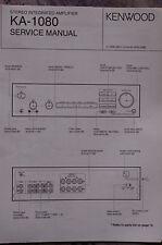 Service Manual für Kenwood KA-1080