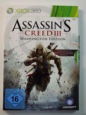 !!! Xbox 360 juego Assassin 's Creed III washington, usado pero bien!!!