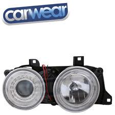 BMW E34/E32 CHROME ANGEL EYES PROJECTOR HEAD LIGHTS DEFECT LENSES