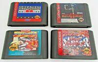 Sega Genesis Great Fighting Games Greatest Heavyweights, Street Fighter, ect..