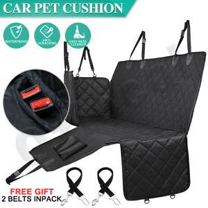 Premium Dog Back Car Seat Cover Hammock Waterproof NonSlip Pet Cat Protector Mat
