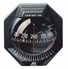 NAUTOS 39669 -CONTEST 130 COMPASS - VERTICAL MOUNT - BLACK BEZEL WITH BLACK CARD
