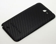 Samsung Galaxy Note 2 N7100 Carbon Optik Akkudeckel Cover Schale Backcover