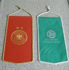 DFB-DEUTSCHER FUSSBALL BUND-DAMENFUSSBALL-2 WIMPEL-TOP-WM-EM-OLYMPIA-ERFOLGE-***
