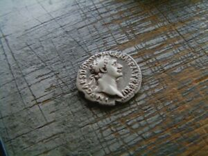 BEAU DOMITIEN, DOMITIANUS, denier Rome en 95-96, IMP XXII COS XVII CENS PP