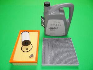 Filterset Seat Tarraco 2.0 TDI 110/140KW + 5L Original VW Öl 0W30 50400 / 50700