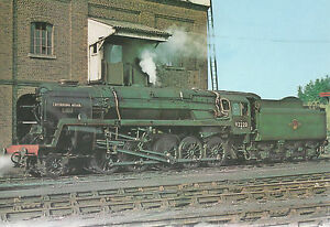 Evening Star  Last Steam Engine Built by British Railway   Unused  Postcard 7104
