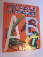 1959 Vintage Hardcover Book The Nonsense Alphabet Edward Lear Wonder Books