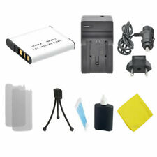 NP-BN1 Battery + Charger for Sony DSC-WX220 DSC-W800 DSCW830 W610 W690 T110