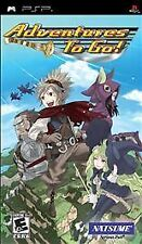 Adventures to Go UMD PSP GAME SONY PLAYSTATION PORTABLE