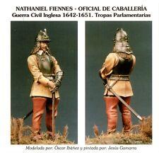 ART GIRONA I-20 - NATHANIEL FIENNES OFICIAL DE CABALLERIA 1642 - 54mm METAL KIT