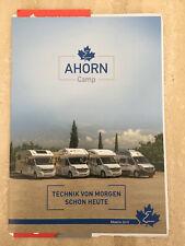 Ahorn Camp ACT Canada Alaska 2019 Renault Master Reisemobil Wohnmobil Prospekt