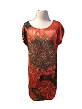 Desigual By Christian Lacroix Designer Dress Short Sleeve Womens XL