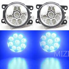 2X LED Front Fog Light Bumper Lamp For FORD Explorer 2011-2015 4F9Z15200AA Blue