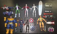 Marvel Thanos Star Lord Winter Soldier Silver Surfer Hercules She Hulk 2009 Lot