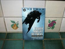 THE DARK KNIGHT RETURNS (TENTH ANNIVERSARY EDITION) GRAPHIC NOVEL FRANK MILLER