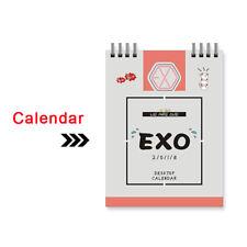 Kpop Exo The War The Power of Music Mini Desk Calendar 2018 CHANYEOL SEHUN SUHO